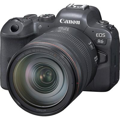 Canon EOS R6 with 24-105mm f/4L Lens