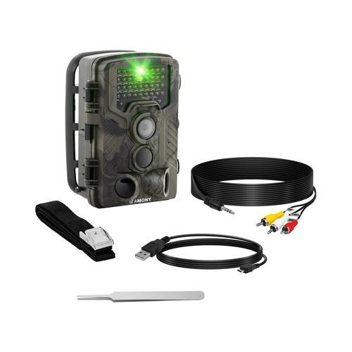 Stamony Wildkamera - 8 MP - Full HD - 42 IR-LEDs - 20 m - 0,3 s - 3G ST-HC-8000G