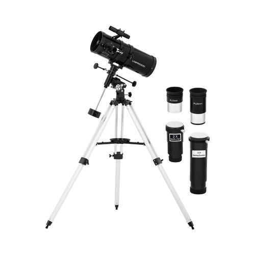 Uniprodo Teleskop - Ø 150 mm - 1.400 mm - Tripod-Stativ UNI_TELESCOPE_11