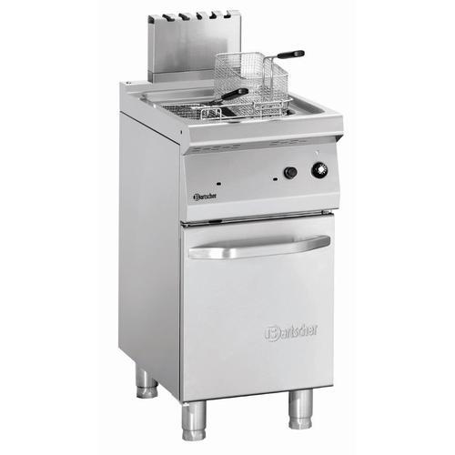 Bartscher Fritteuse Gas, 700, B400, 23L 2859171