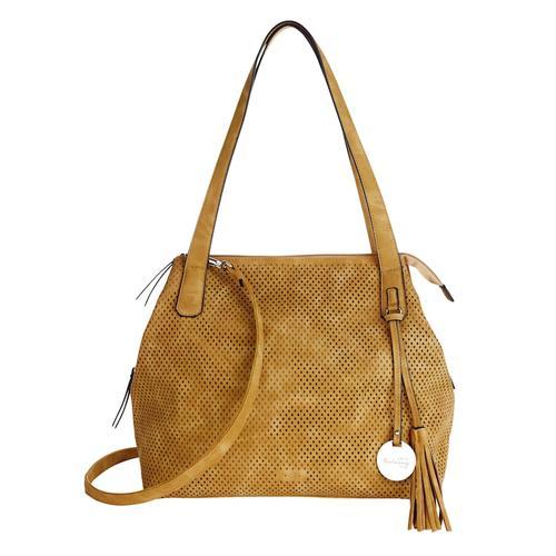Shopper Taschenherz senfgelb