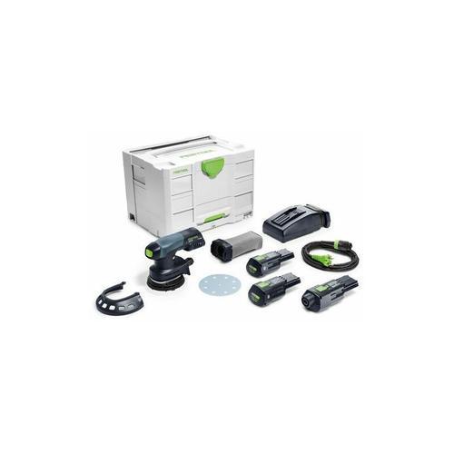 Festool18v - Festool Akku-Exzenterschleifer ETSC 125 Li 3,1 I-Set - 575712