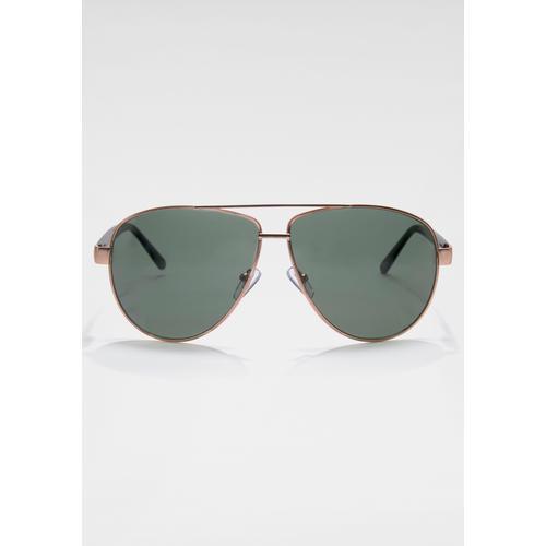 ROUTE 66 Feel the Freedom Eyewear Sonnenbrille, klassische Fliegerbrille grün Damen Pilotenbrille Sonnenbrillen Accessoires Sonnenbrille