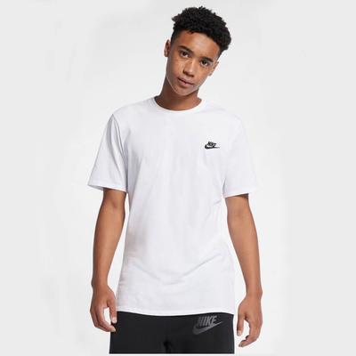 Nike - White and Black Sportswear Air Icon T Shirt - s