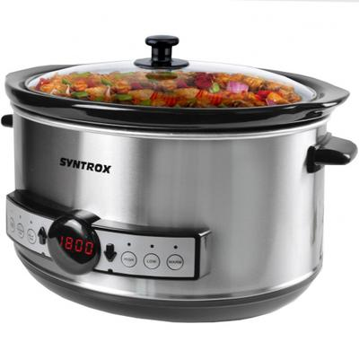 4,5 Liter Digitaler Slow Cooker ...