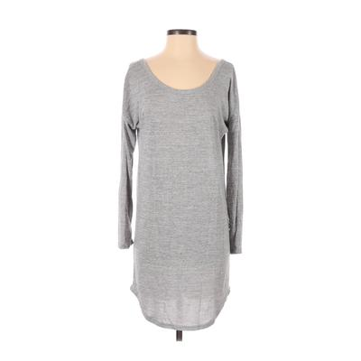 Unbranded - Casual Dress - Sweater Dress: Gray Dresses - Used - Size Small