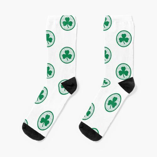 Parkett-Klee 1 Socken