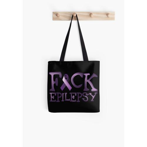 Epilepsie-Krieger - Fuck Epilepsie Tasche