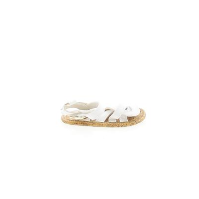 Carter's Sandals: White Solid Sh...