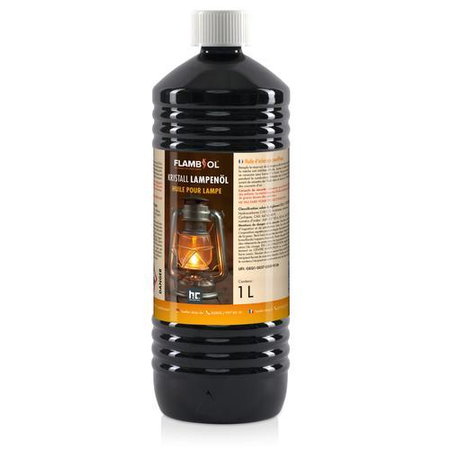 60 x 1 Liter Lampenöl Hochrein Kristallklar in Flaschen