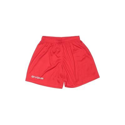 Givova Athletic Shorts: Red Prin...