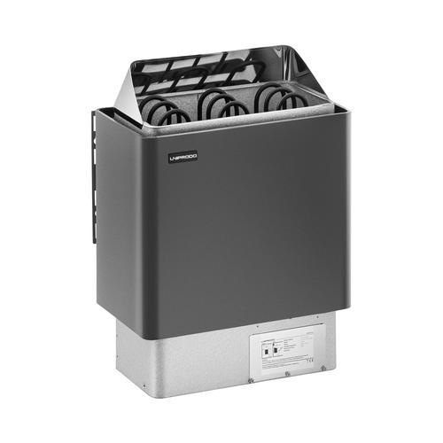 Uniprodo Saunaofen - 4,5 kW - 30 bis 110 °C UNI_SAUNA_G4.5KW