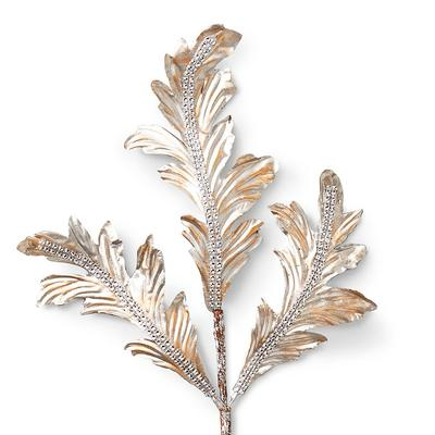 Champagne Acanthus Leaf Stems, S...