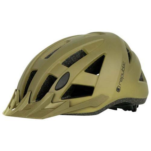 Republic - Bike Helmet R400 MTB - Radhelm Gr 58-61 cm oliv