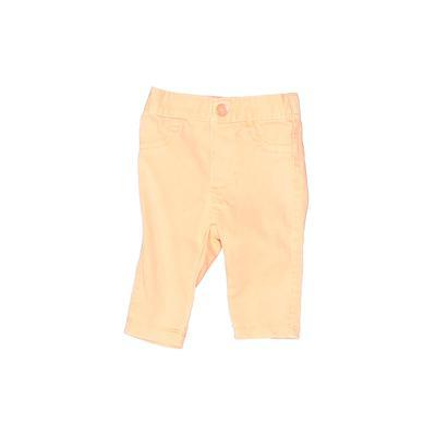 Cherokee Jeans - Elastic: Orange Bottoms - Size Newborn