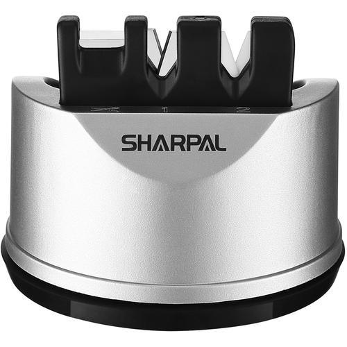 SHARPAL Messerschärfer Knife & Scissors Sharpener silberfarben Schärfgeräte Werkzeug Maschinen