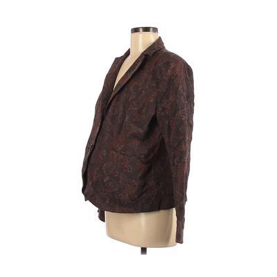 Mimi Maternity Blazer Jacket: Br...