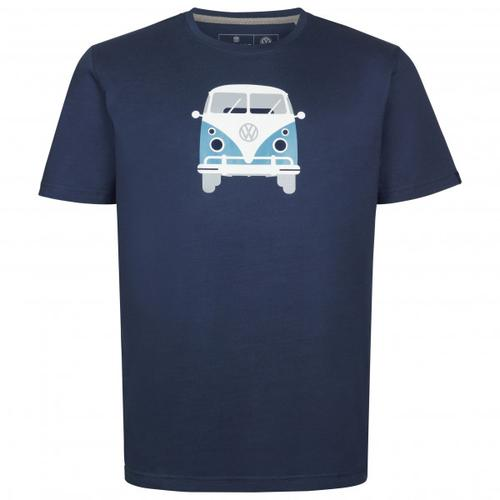 Elkline - Methusalem - T-Shirt Gr S blau/schwarz