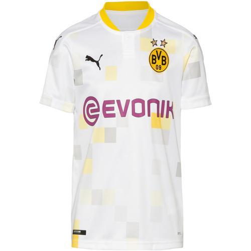 PUMA Borussia Dortmund 20-21 3rd Trikot Kinder in puma white, Größe 140