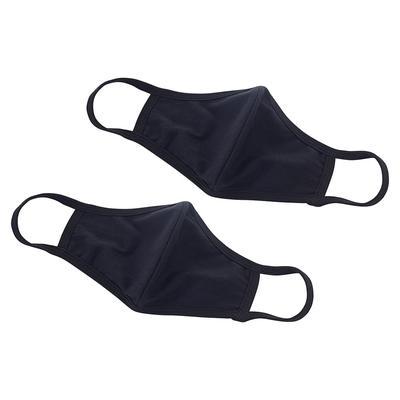 Winco MSK-1KLXL L/XL Reusable Face Masks – 7 1/4″ x 5 1/2″, Cotton, Black