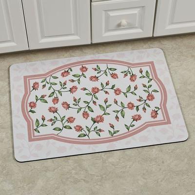 Bridal Rose Premium Comfort Mat Blush 31 x 22, 31 x 22, Blush