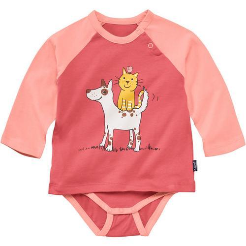 Bodyshirt, rosa, Gr. 80/86