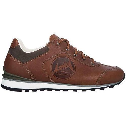 LOWA Damen Sneaker TEGERNSEE Ws, Größe 39 ½ in Braun