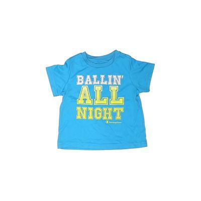 Champion Active T-Shirt: Blue So...