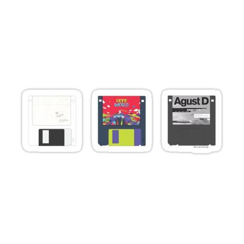 Bts Mixtapes Sticker