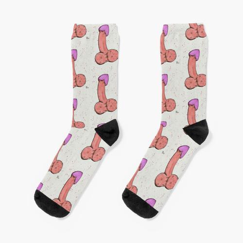 Der bescheidene Schwanz Socken