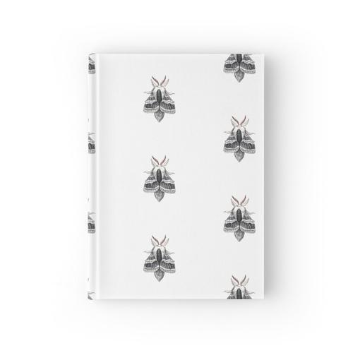 Große Tolype Motte (Tolype velleda) Notizbuch