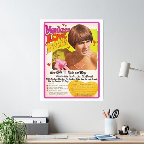 Davy Jones Liebesperlen - Die Monkees Poster