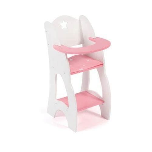 Puppen-Hochstuhl pink
