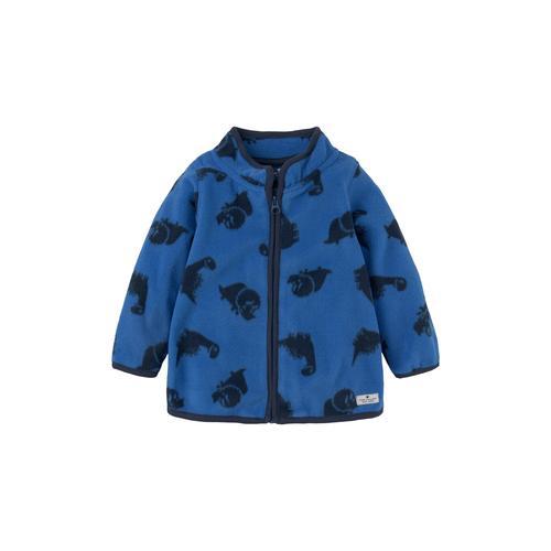 TOM TAILOR Baby Fleecejacke mit Print, blau, Gr.80