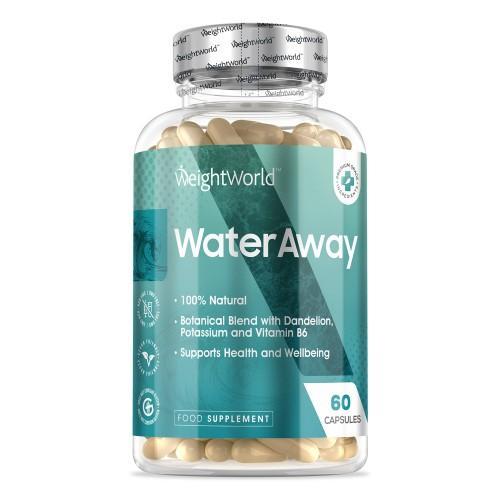 Gesund Abnehmen mit Water Away Kapseln - 60 Kapseln