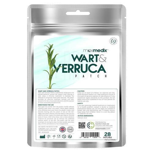 Warzenpflaster Wart & Verruca - 28 Pflaster - Einfache Warzen Entfernung