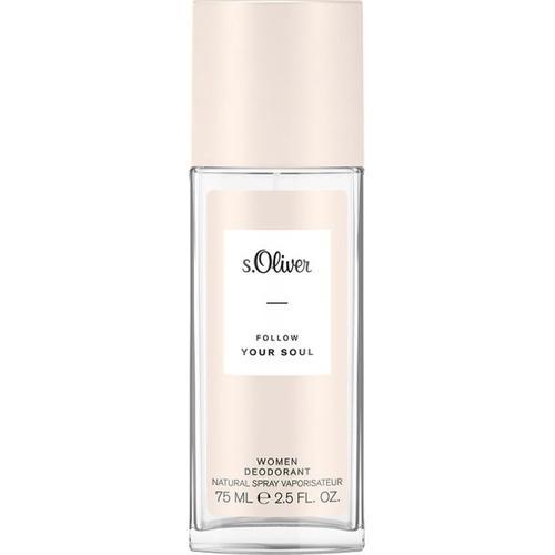 s.Oliver Follow Your Soul Women Deodorant Natural Spray 75 ml Deodorant Spray