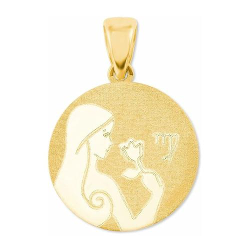 Anhänger Unisex, Gold 375, Jungfrau amor Gold