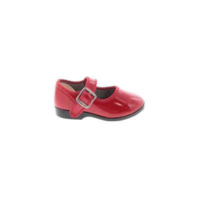 Dress Shoes: Red Solid Shoes - S...