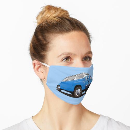FIAT 600 Multipla in blau Maske