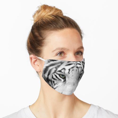 Tzatziki in Schwarz und Weiß Maske