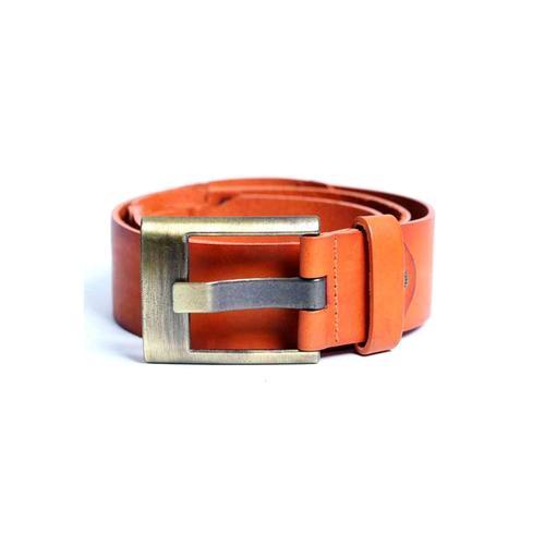 Cipo & Baxx Ledergürtel, mit dezentem Marken-Logo braun Damen Ledergürtel Gürtel Accessoires
