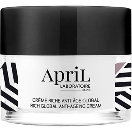 April Paris Crème Riche Anti-âge Global / Global Anti-Ageing Rich Cream Pot / Jar 50 ml Gesichtscreme