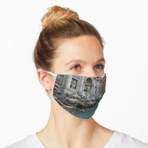 Roms fabelhafte Brunnen - Trevi-Brunnen, keine Touristen Maske