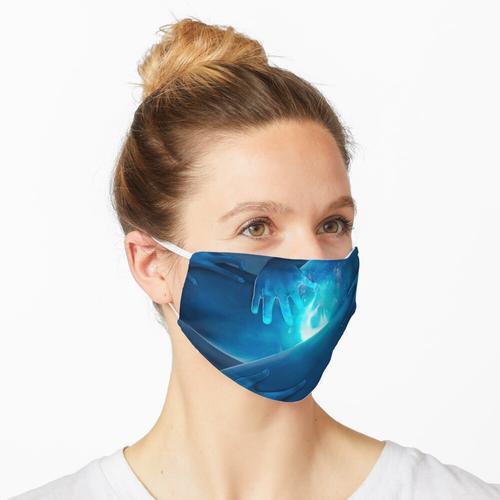 Blau ist die wärmste Farbe Maske