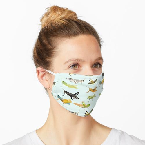 Heuschrecken Maske