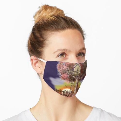 Baumhaus - Herbst Maske