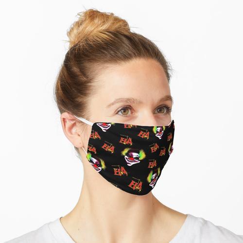 Halloween Horrorclown Pattern Maske