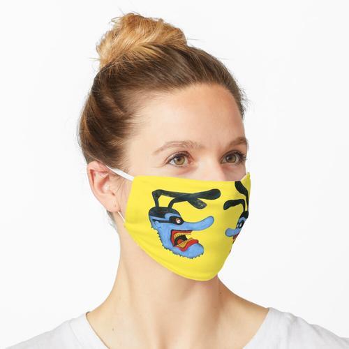 Gelbes U-Boot Maske