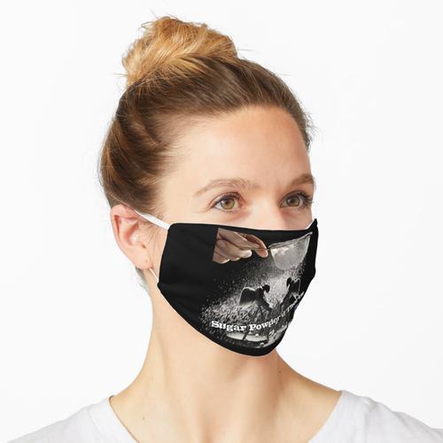 Zuckerpulver'dortz Maske